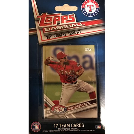 Texas Rangers 2017 Topps Factory Sealed Special Edition 17 Card Team Set with Yu Darvish and Adrian Beltre  Plus Texas Rangers Team Set