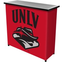 UNLV 2-Shelf Portable Bar with Carrying Case