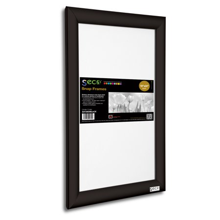 SECO Front Load Easy Open Snap Poster/Picture Frame 18 x ...