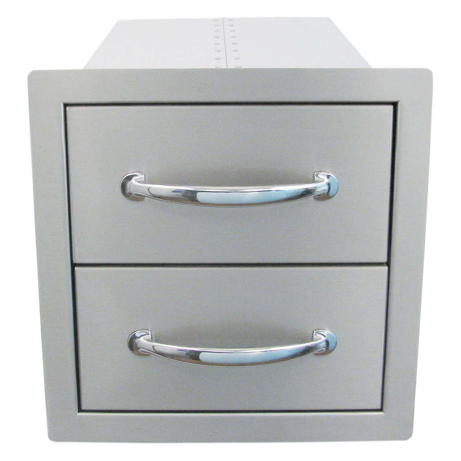 Sunstone Grills Classic Series 14 In. Flush Double Access Drawer
