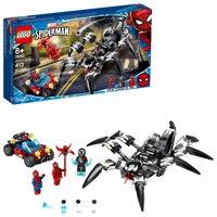 Deals on LEGO Marvel Avengers Venom Crawler Spider-Man vs Venom Mech Playset