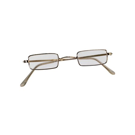 Square Framed Glasses Adult Halloween Accessory
