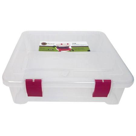 - Creative Options Organizer Craft Tub Clear
