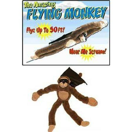 Flingshot Slingshot Flying Screaming Monkey, Brown - image 3 of 4