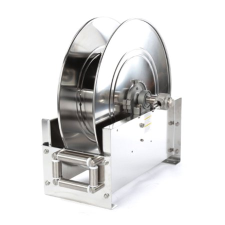 Reelcraft D9200 Oms S 1 2  X 75 Ultimate Duty Stainless Hose Reel  3000 Psi No Hose