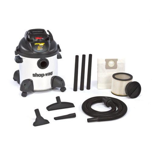 Shop-Vac 5950900 8 Gallon 4 Peak HP Stainless Steel Hardware Store Pro Wet/Dry Vacuum