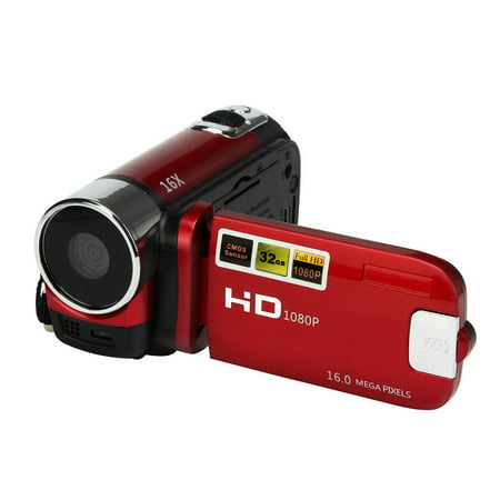 Camera Camcorders, 16MP High Definition Digital Video Camcorder 1080P 2.7 Inches TFT LCD Screen 16X Zoom Camera -