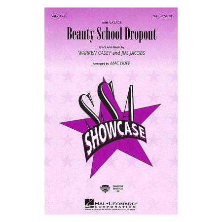 Beauty School Dropout From Grease (Hal Leonard Beauty School Dropout (from Grease) SSA arranged by Mac)