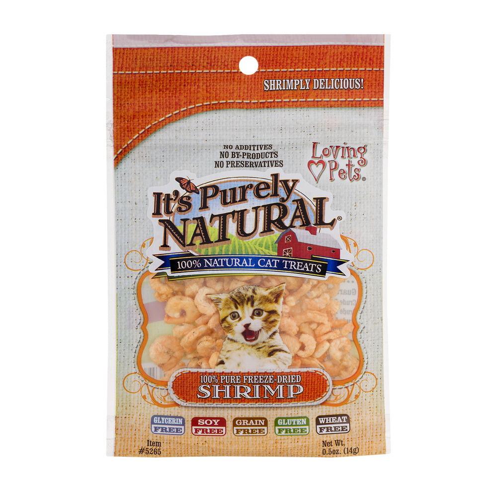 Loving Pets It's Purely Natural 100% Natural Cat Treats Shrimp, 0.5 OZ by Loving Pets, Inc.