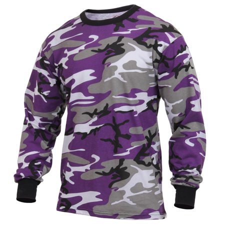 Rothco Long Sleeve Camouflage T-Shirt