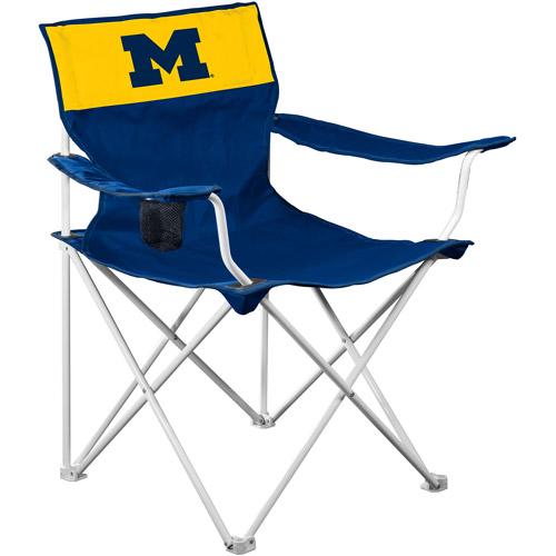 Logo Chair NCAA Michigan Canvas Chair