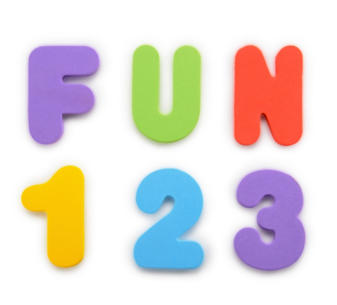 Munchkin Learn Bath Letters & Numbers-Primary, 36 Count by Munchkin