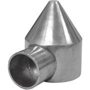 Midwest Air Tech 1-Way Bullet 2-3/8 in. Aluminum Cap 328568C