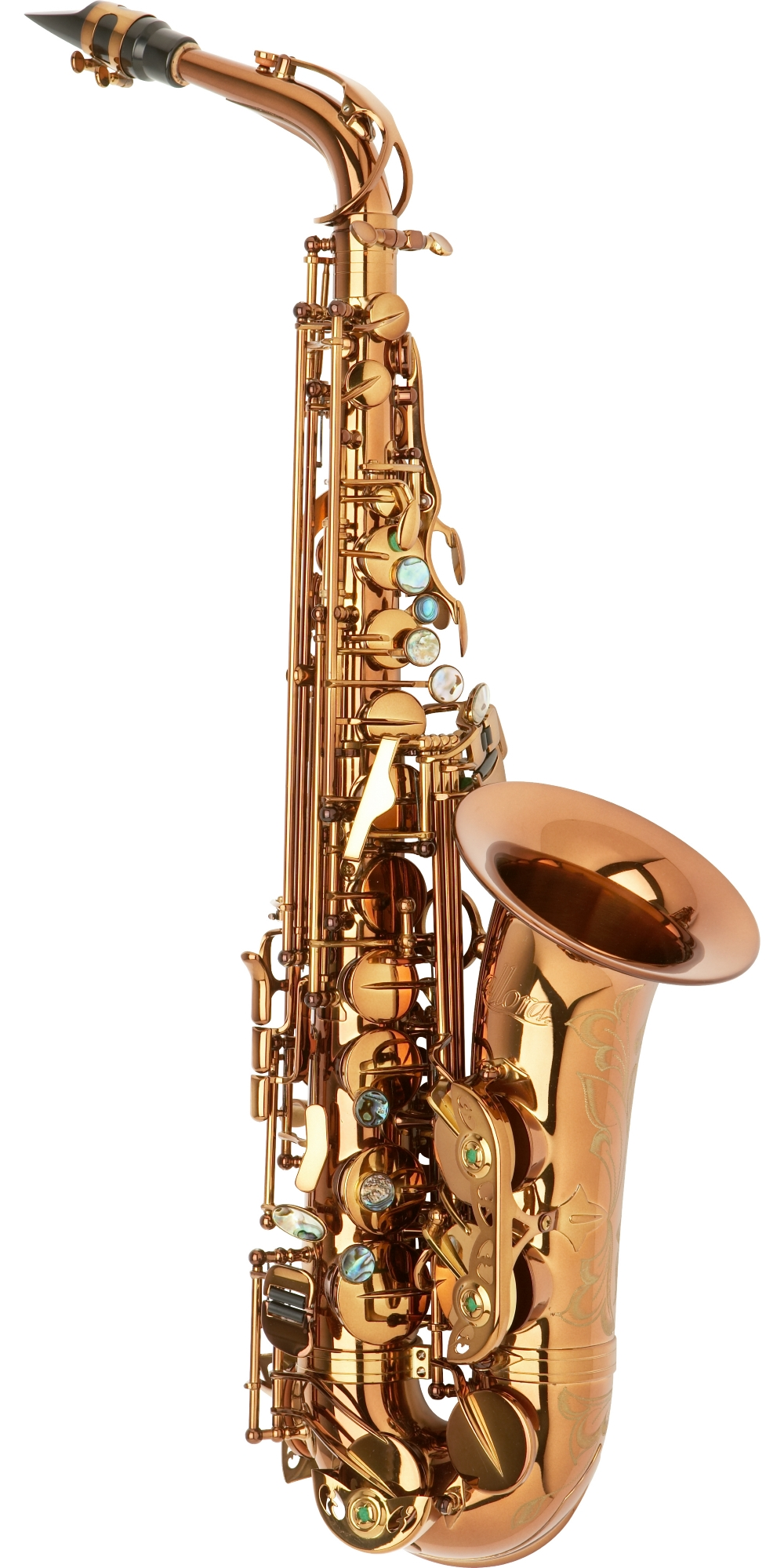 Allora Chicago Jazz Alto Saxophone AAAS-954 Dark Gold Lacquer by Allora