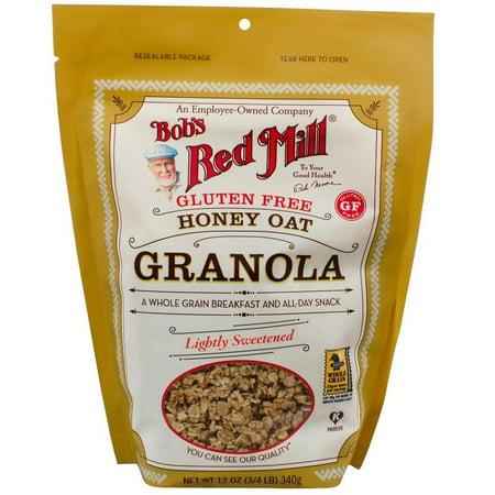 Bob's Red Mill Gluten Free Honey Oat Granola 12 oz. (4 (Bobs Red Mill Granola)