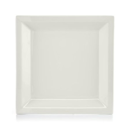 Halloween Dinner Party Martha Stewart (Collection Harlow Talc White Square Dinner Plate, By Martha)