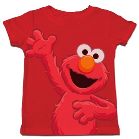 Sesame Street Jumbo Posing Elmo Toddlers Red T-Shirt (Elmo Suit For Sale)