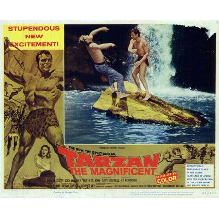 Tarzan the Magnificent POSTER Movie Mini Promo - Tarzan Halloween