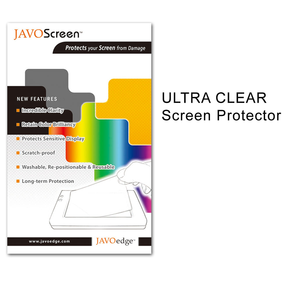 JAVOedge Ultra-Clear Screen Protector for Archos 9