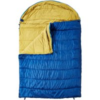 KHOMO GEAR - 3 Season - Double Sleeping Bag for Hiking Camping & Outdoor Activities - Compression Bag Included
