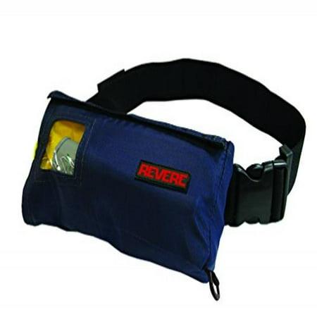 Revere ComfortMax Inflatable Belt Pack Type III Personal Flotation Device (Navy Blue,