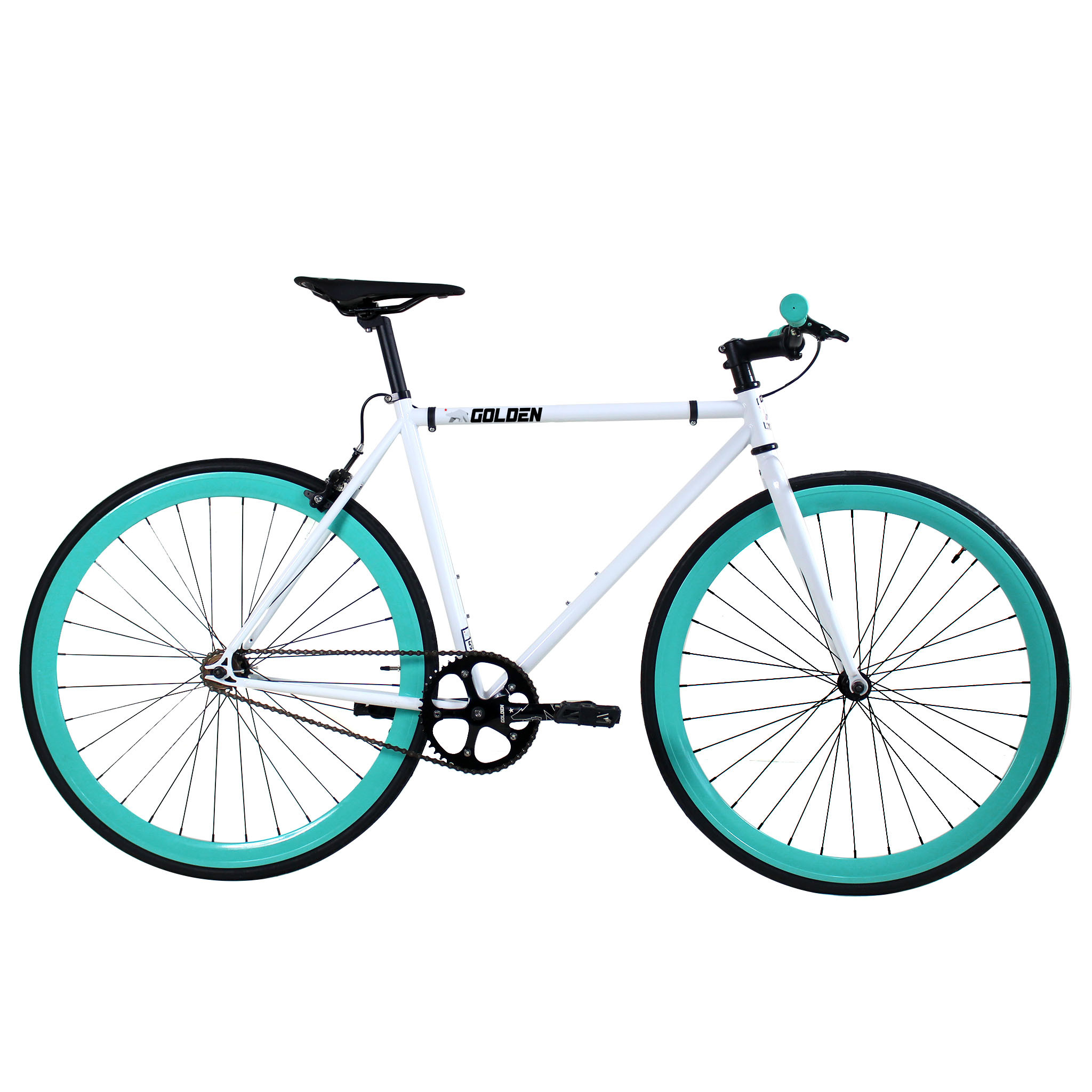 Golden Cycles Heaven White/Celestial Fixed Gear 48 cm