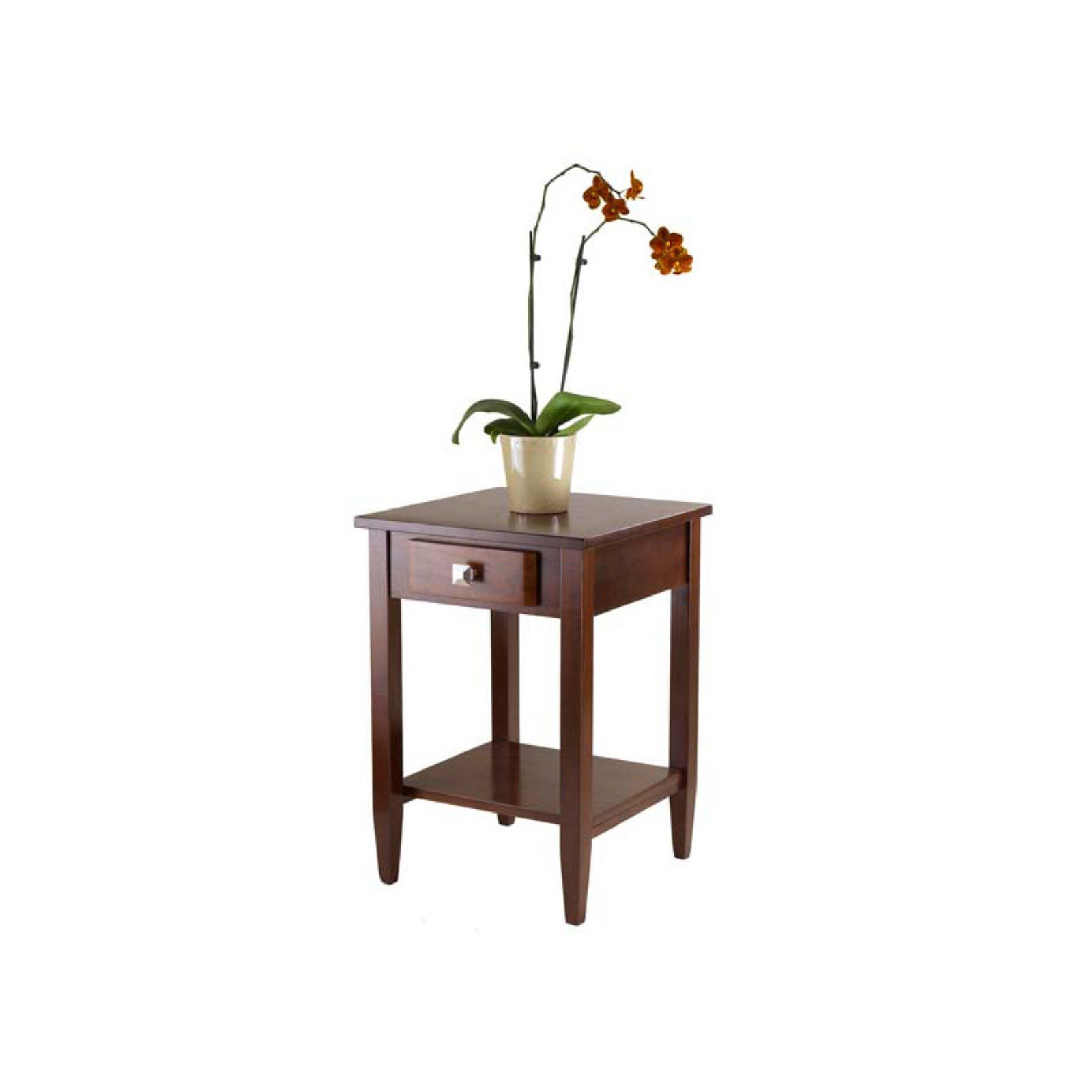 Winsome Wood Richmond Accent End Table, Walnut Finish by Winsome Trading Inc