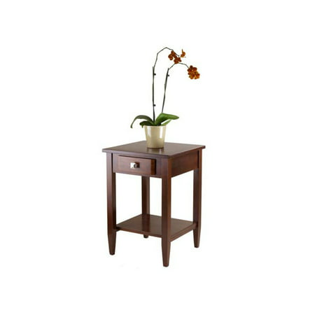 Winsome Wood Richmond Accent End Table, Walnut Finish