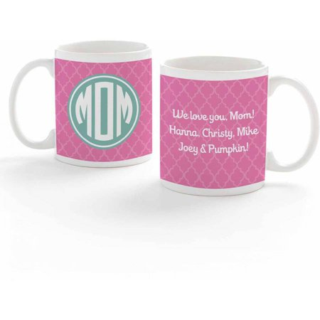 Personalized Monogram For Mom Coffee Mug