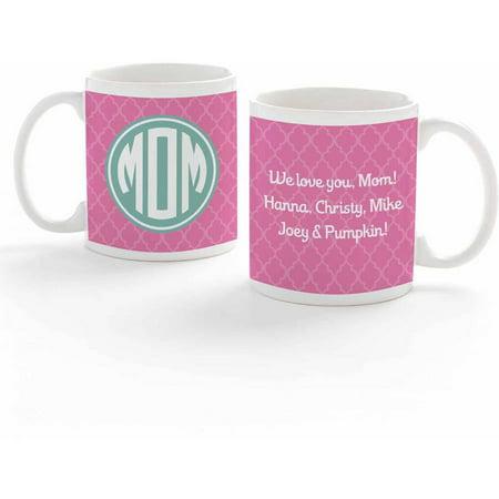 Personalized Monogram For Mom Coffee Mug - Personalized M&m