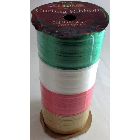 Rite Aid Home for the Holidays Curling Ribbon 300 ft 4