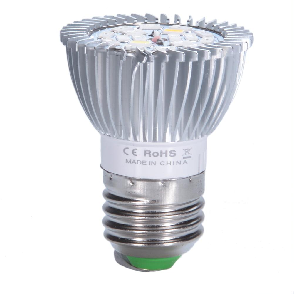18w E27 Led Plant Grow Light Bulb Full Spectrum Bulb Lights For