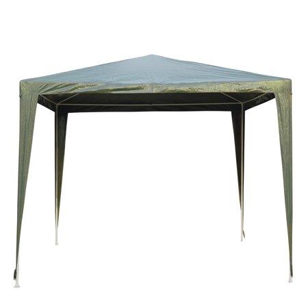 9x9ft Party Tent Outdoor Gazebo Canopy Portable Folding Sunshade Dark Green - image 7 de 7