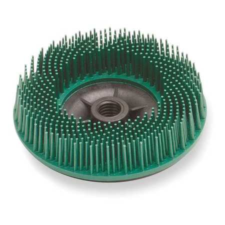 3M 24241 Bristle Disc, 4.5 In Dia, 3/4 In Trim, 50G