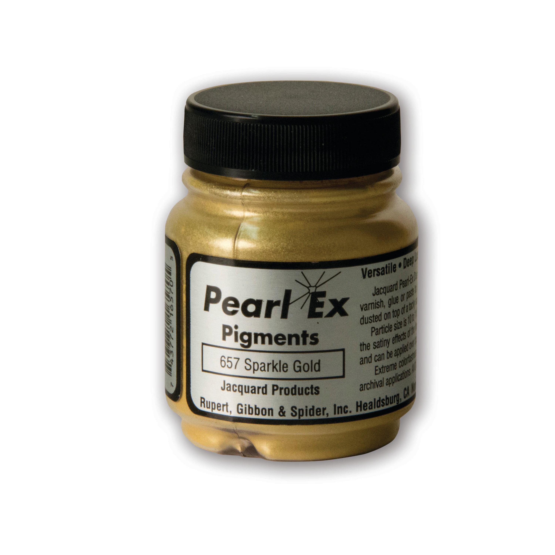 Jacquard Pearl Ex Pigment, 3/4 oz., Sparkle Gold