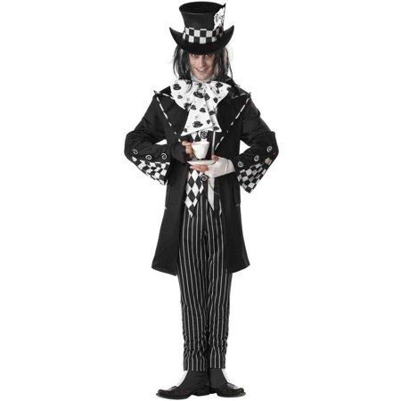 Dark Mad Hatter Men's Adult Halloween Costume - Evil Mad Hatter