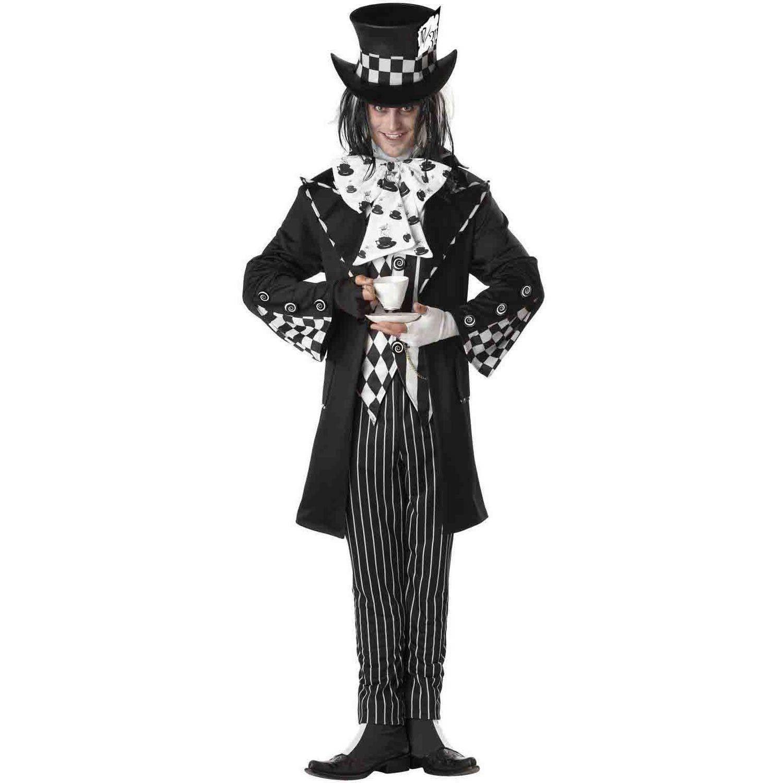Dark Mad Hatter Men's Adult Halloween Costume
