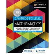 Cambridge O Level Mathematics (Paperback)