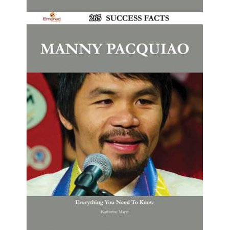 Manny Pacquiao 265 Success Facts - Everything you need to know about Manny Pacquiao - - Manny Pacquiao Costume