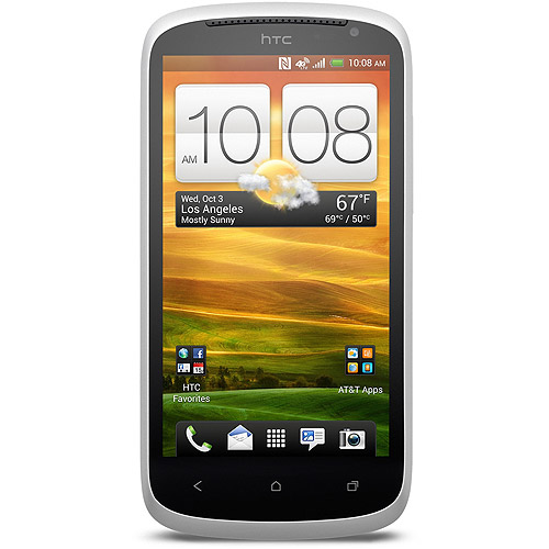 HTC AT&T One VX GSM Smartphone, White (Unlocked)