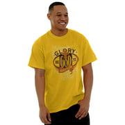 Jesus Short Sleeve T-Shirt Tees Tshirts Glory Be To God Christian Religious Gift