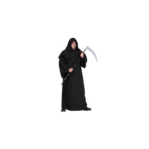 RG Costumes 85191 Plus Size Robe with Overd Hood Costume - Black