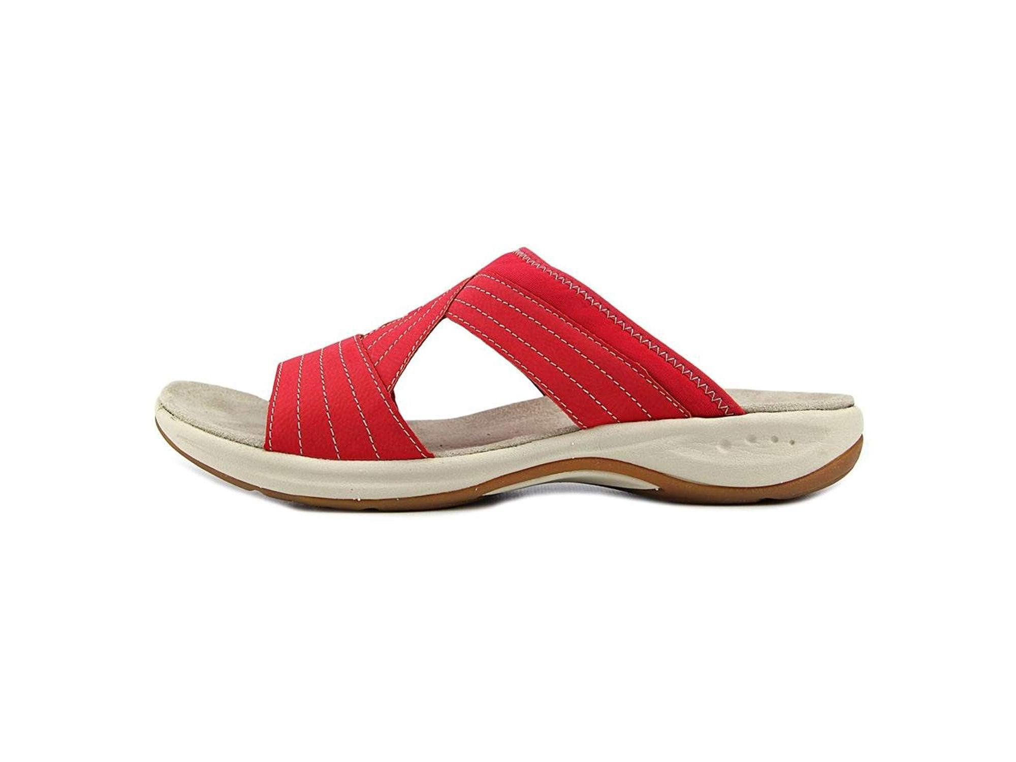 235ee2052a15 Easy Spirit Womens Emorie Open Toe Casual Slide Sandals