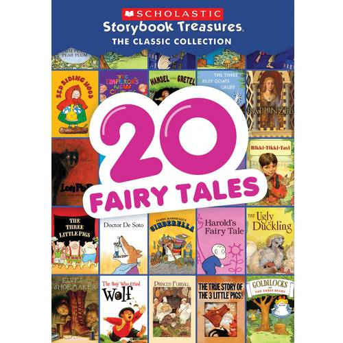 20 Fairy Tales Scholastic Treasures: The Classic Collection