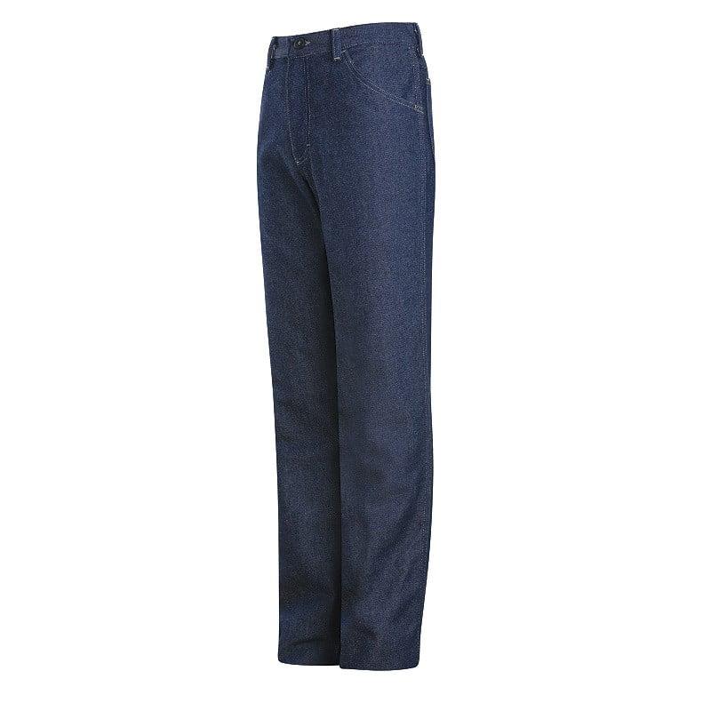 Mens PEJ4 DW FR Denim Work Jeans Blue Bulwark Protective Apparel