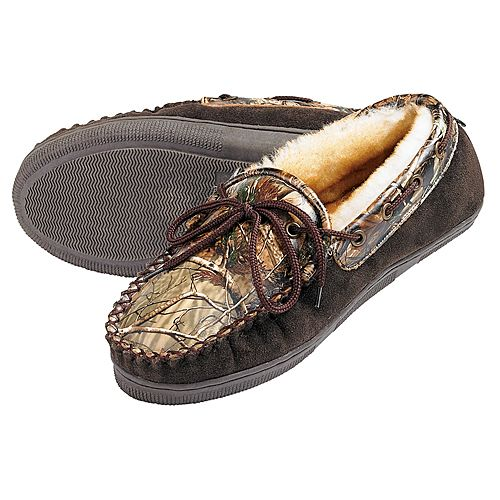 Webers Leather Slippers