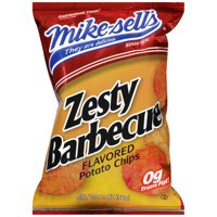 Mike-sell's Zesty Barbecue Flavored Potato Chips, 2 oz