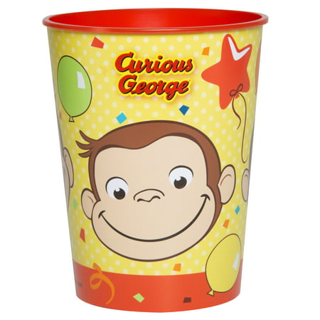 Unique Industries Curious George Plastic Cup, 16 oz, - Plastic Cups For Sale