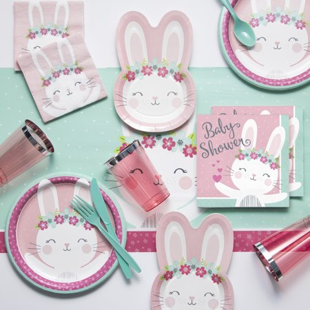 Bunny Party Baby Shower Party Supplies Kit ()