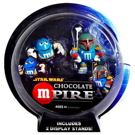Star Wars Chocolate Mpire Han Solo & Boba Fett Action Figure